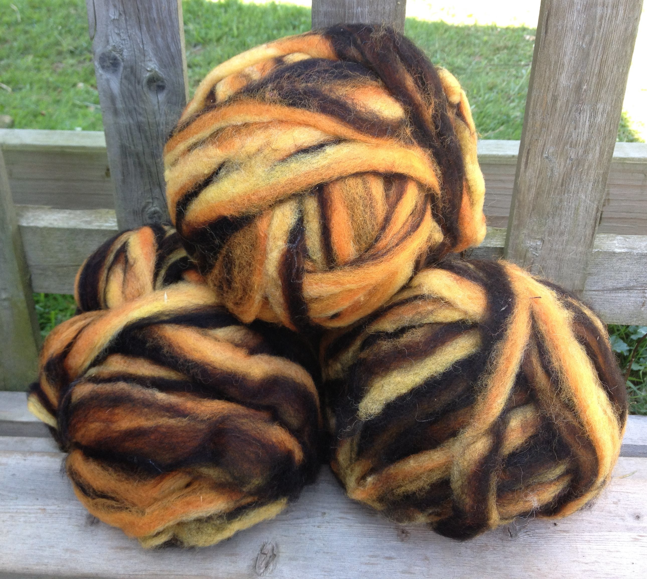 Alpaca Wool Roving - Fireside 17773