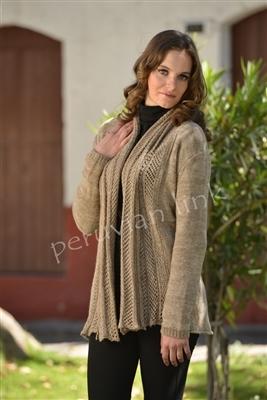 Crochet Alpaca  Sweater PL17421