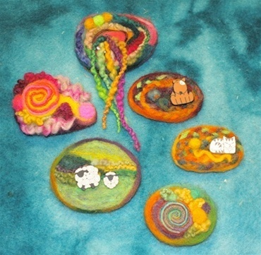Funky Felted Pin Kit