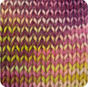 Alpaca and Superwash Wool Sock Yarn - Garden Party AYC-637