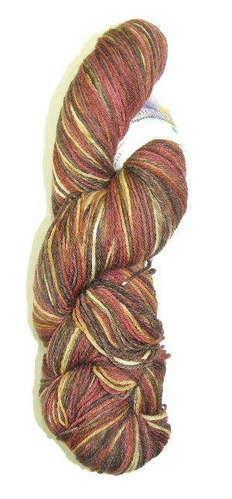 Alpaca and Superwash Wool Sock Yarn - Fireside