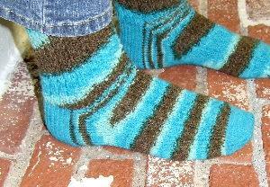 Alpaca and Superwash Wool Sock Yarn - Caribbean Chocolate