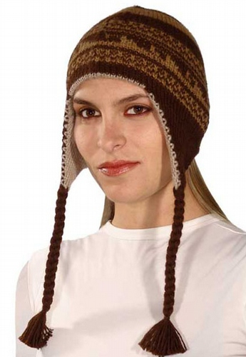 Double Knitted Chullo Hat PL-091058