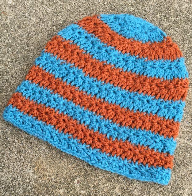 Star Striped Alpaca Hat 17886