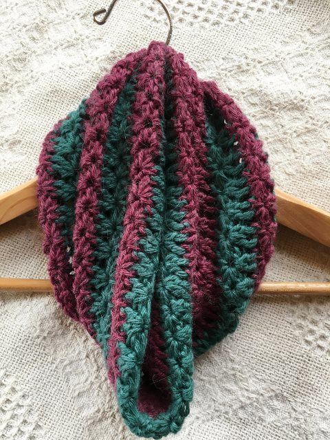 Star Striped Alpaca Cowl - Made to Order