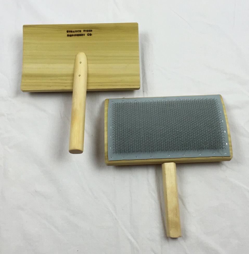 8-inch Wool Hand Card