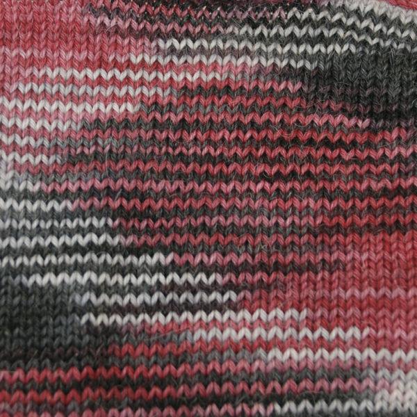Alpaca and Superwash Wool Sock Yarn - Vampire Kiss