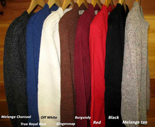 Ebel Sweater Colors
