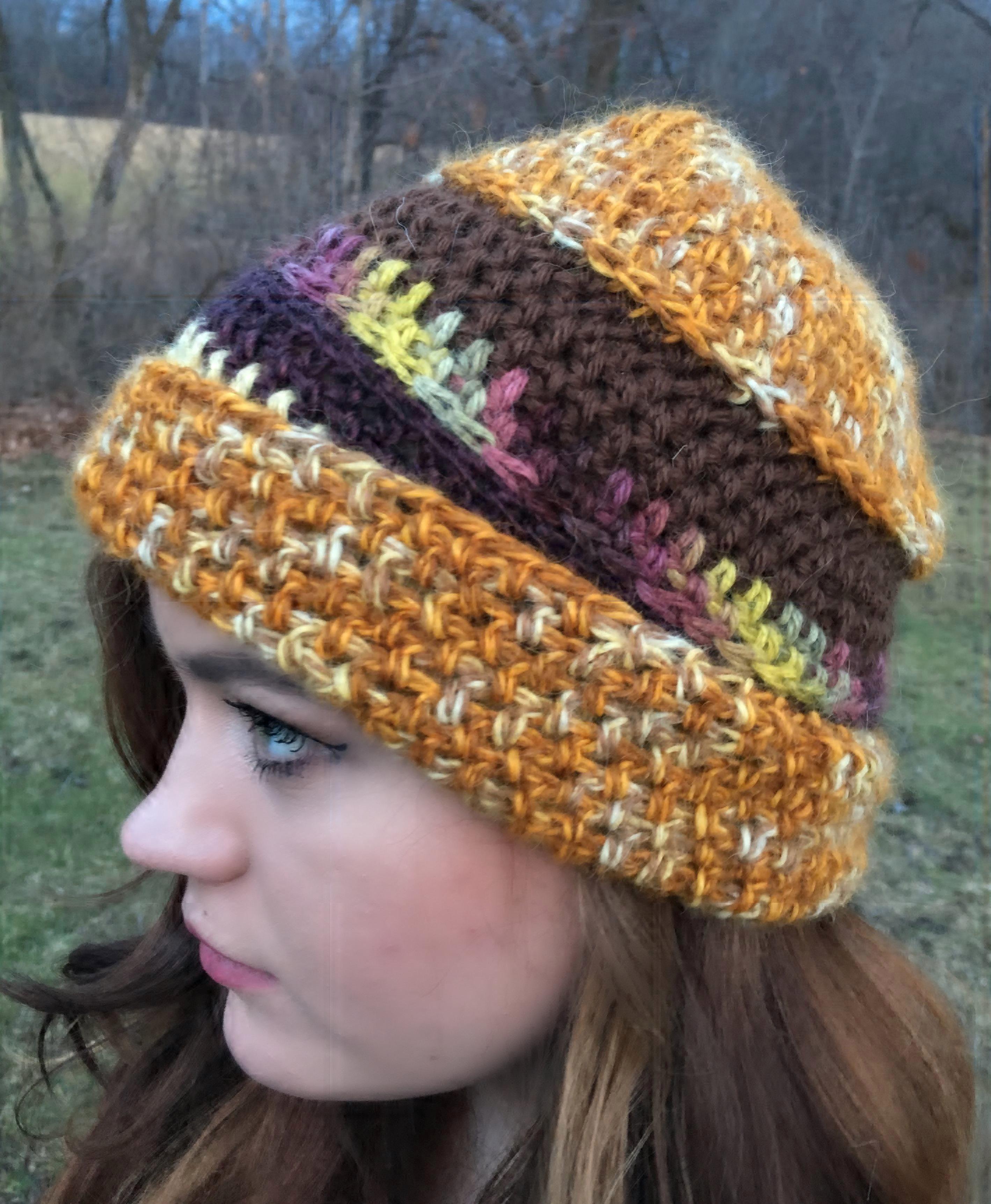 Striped Alpaca Hat 18064