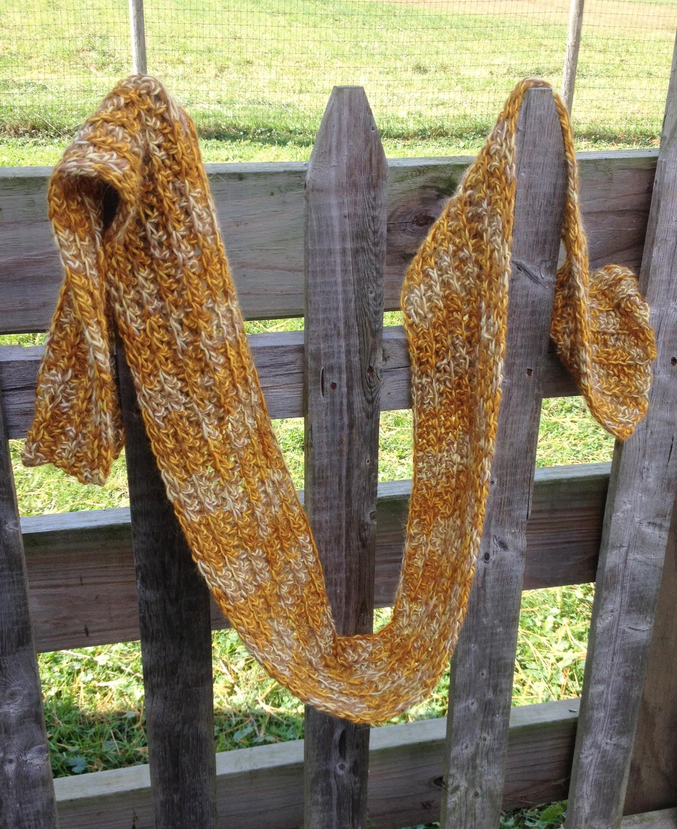 Ribbed Scarf Crochet Class 18065