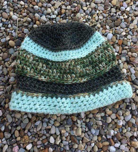 Multi-Color Green Hat - Camo