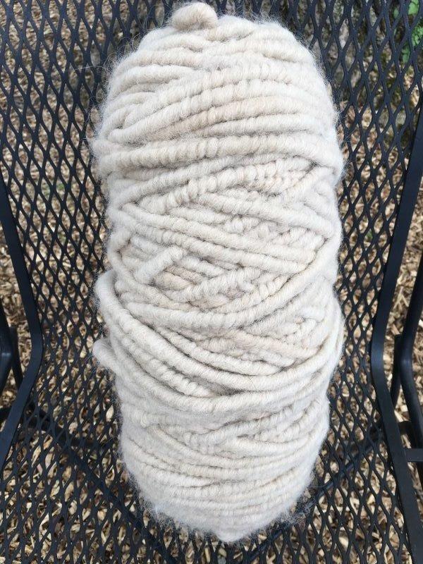 Suri Alpaca Rug Yarn - Cream 18077