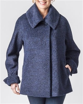 NEW Suri Alpaca Boucle Jacket 18114