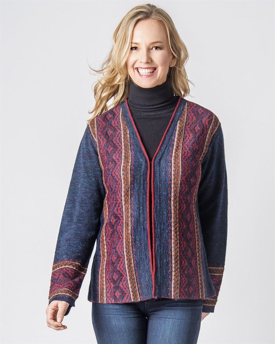 NEW Kathleen Ladies Alpaca Sweater