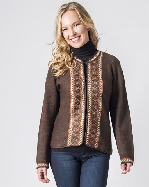 Margaret Ladies Alpaca Sweater