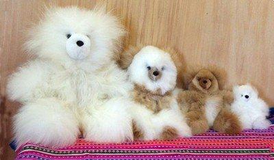 Tiny Teddy Bear 100% Baby Alpaca