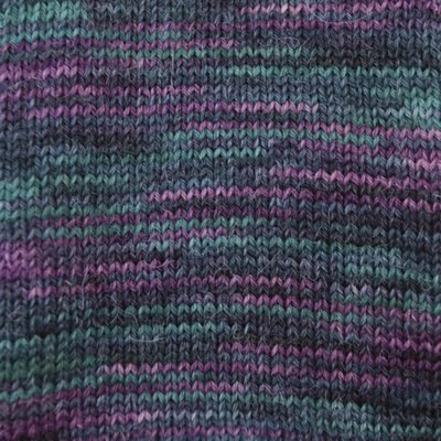 Alpaca and Superwash Wool Sock Yarn - Deep Seas