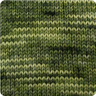 Alpaca and Superwash Wool Sock Yarn - Green Gator