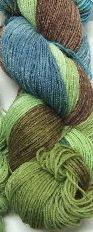 Alpaca and Superwash Wool Sock Yarn - Mermaids go Walking