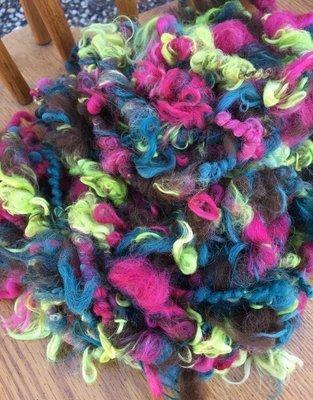 Alpaca Art Yarn - Brown, Cedar, Azalea, Wattle