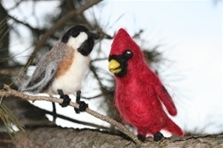Needle Felt Winter Birds Kit 00108