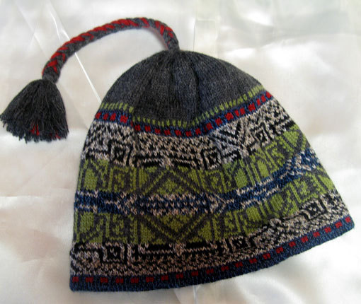 Celtic Braid Hat 00115
