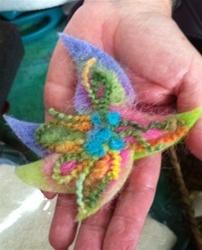 Bloomin' Brites Needle Felted Flowers Kit