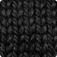 Snuggle Bulky Alpaca Blend Yarn - Black AYC-6500