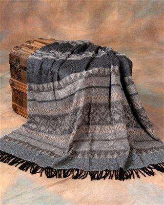 Cherokee Alpaca Throw 18136