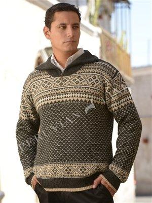 Men's Mountain Alpaca Sweater 18143