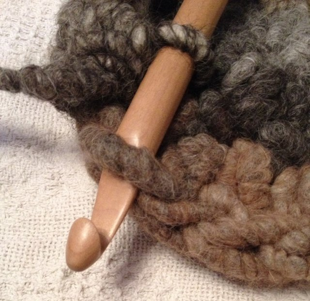 Rug Yarn Crochet Class