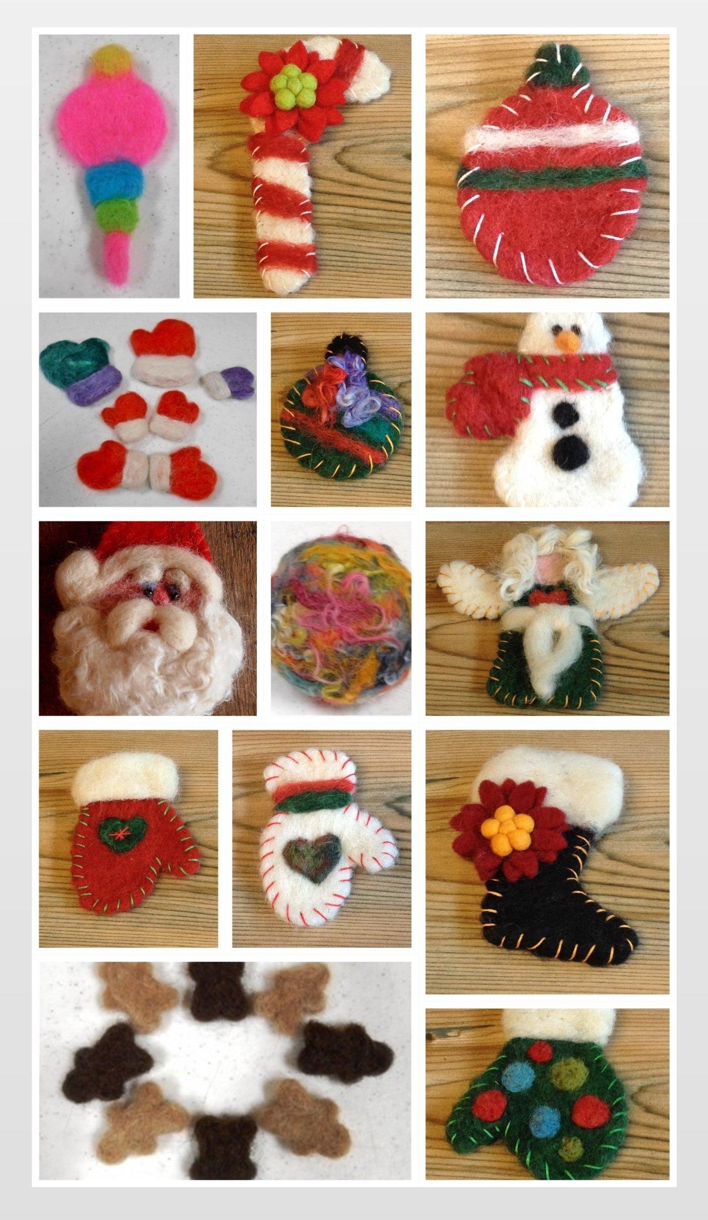 Christmas Needle Felting Workshop 00081