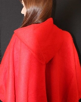 NEW Hooded Alpaca Cape