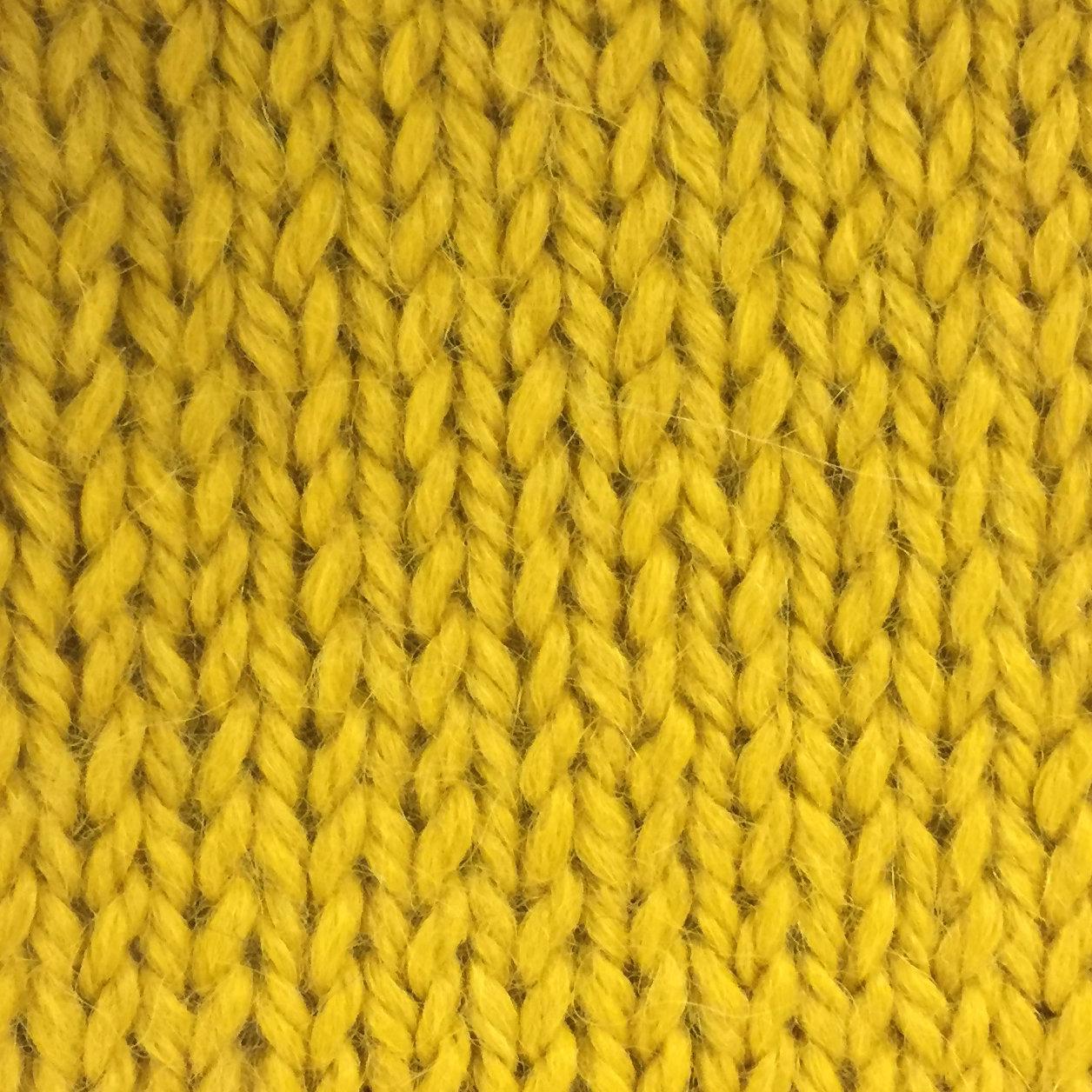 Snuggle Bulky Alpaca Blend Yarn - Sunshine AYC-6562