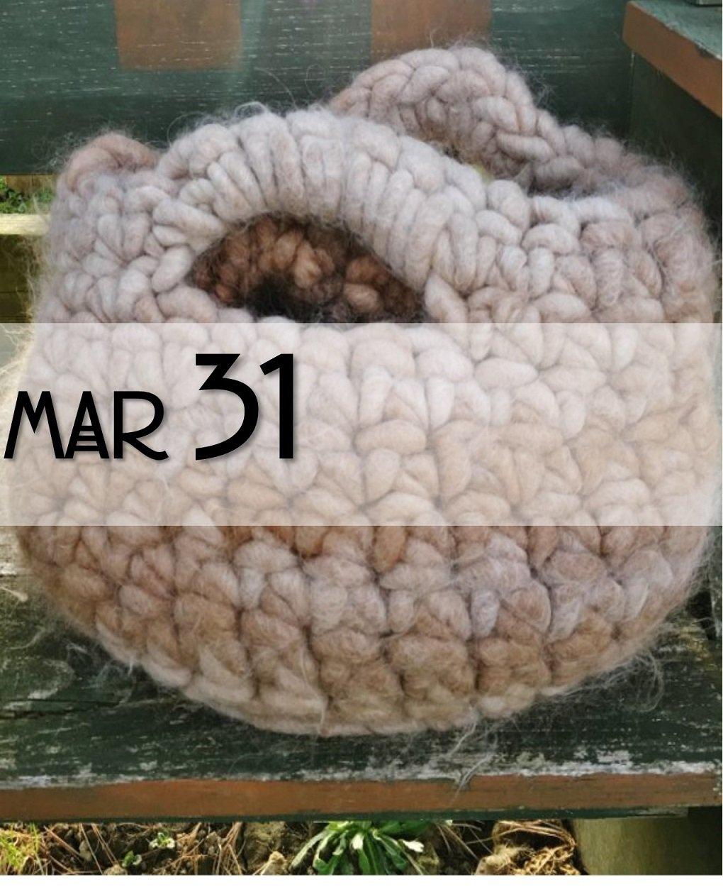Rug Yarn Crochet Class 18153