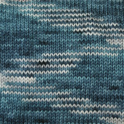 Alpaca and Superwash Wool Sock Yarn - Teal For Two