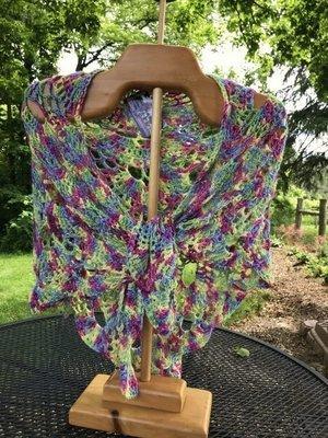 Virus Shawl Crochet Class