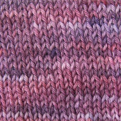 Alpaca and Superwash Wool Sock Yarn - Fresh Violets
