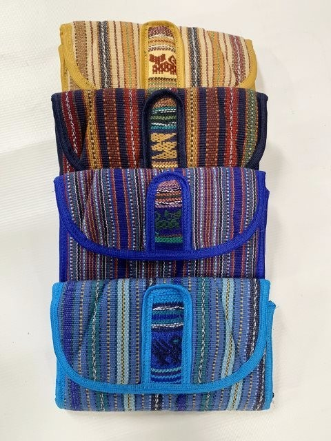 Handwoven Tri-Fold Wallet