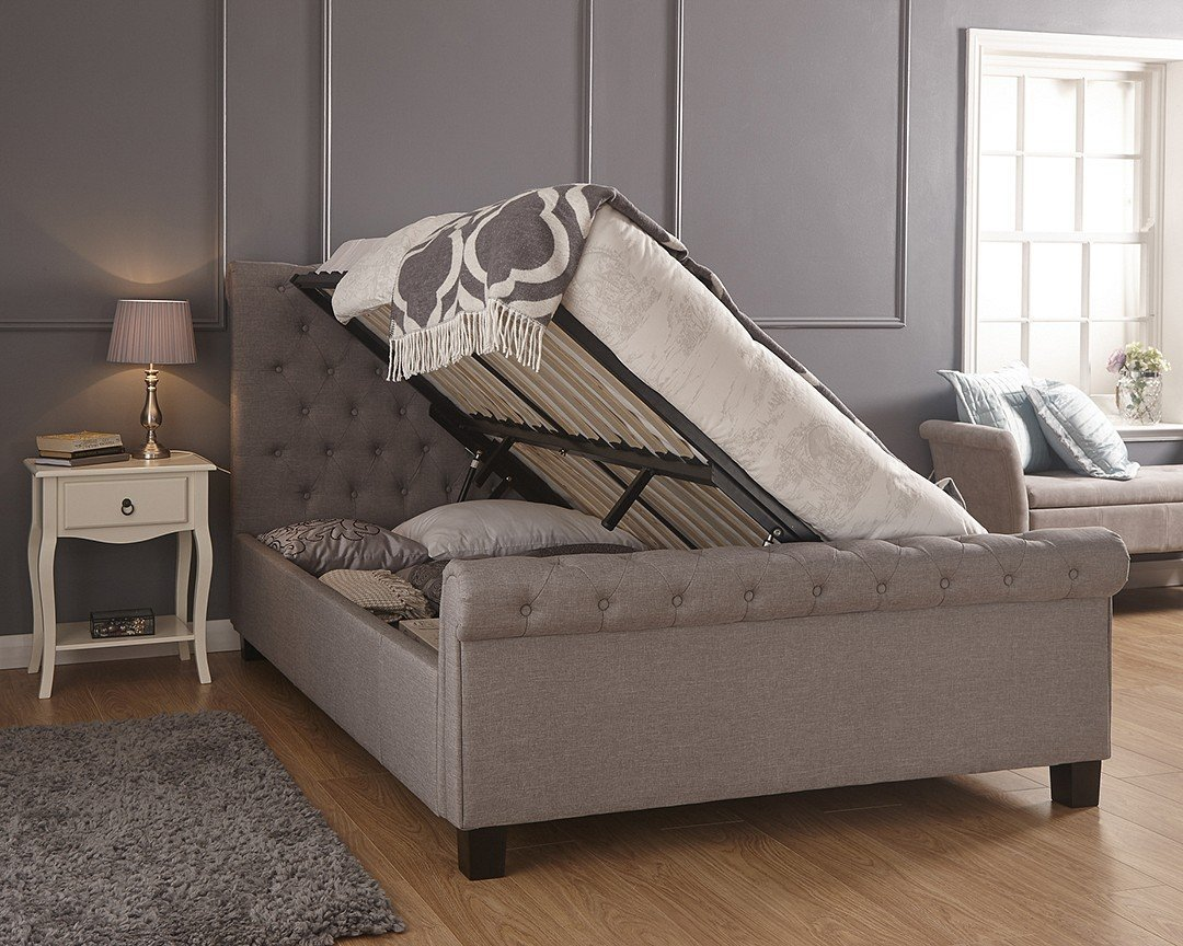 Stupendous Layla Ottoman Bed Frame Creativecarmelina Interior Chair Design Creativecarmelinacom