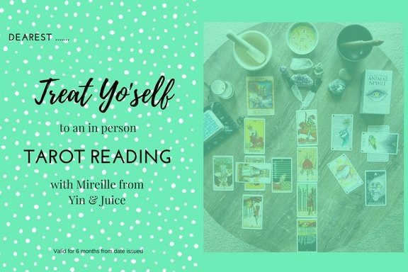 Gift Voucher - Tarot Reading (In Person) GV006