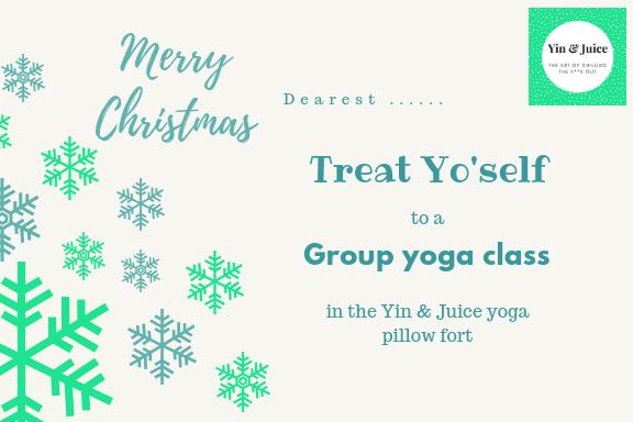 Gift Voucher - Group Yoga Class GV003