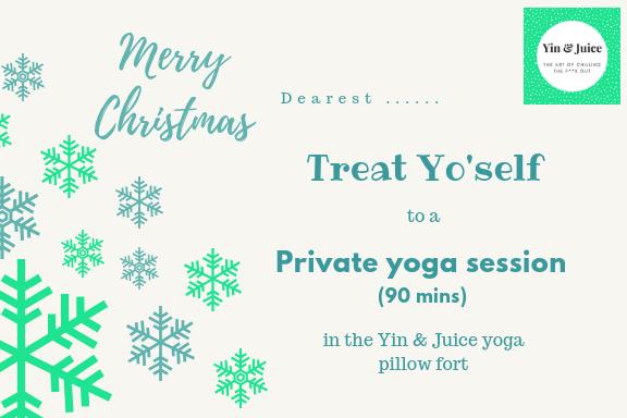 Gift Voucher - Private Yoga Session (90 mins) GV002