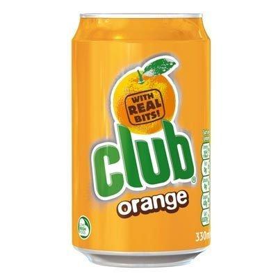 Club Soda: Orange Flavored 330ml (11 2fl oz)