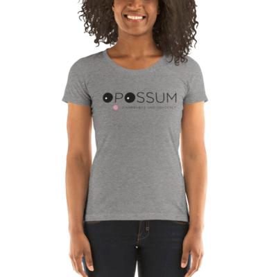 Women's Scoop Neck Opossum T-Shirt (Multiple colors)