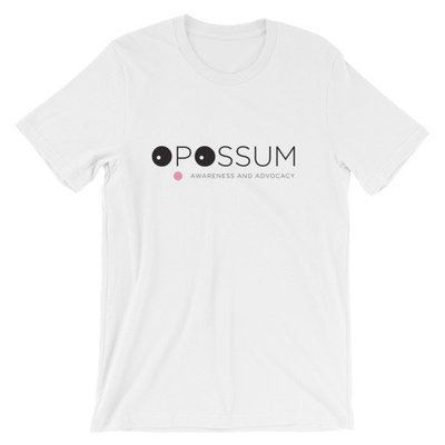 Short-Sleeve Unisex T-Shirt - Modern Opossum Logo -  (4 colors)