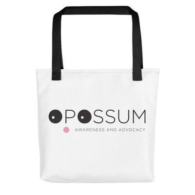 Opossum Tote Bag - Modern Logo - 15
