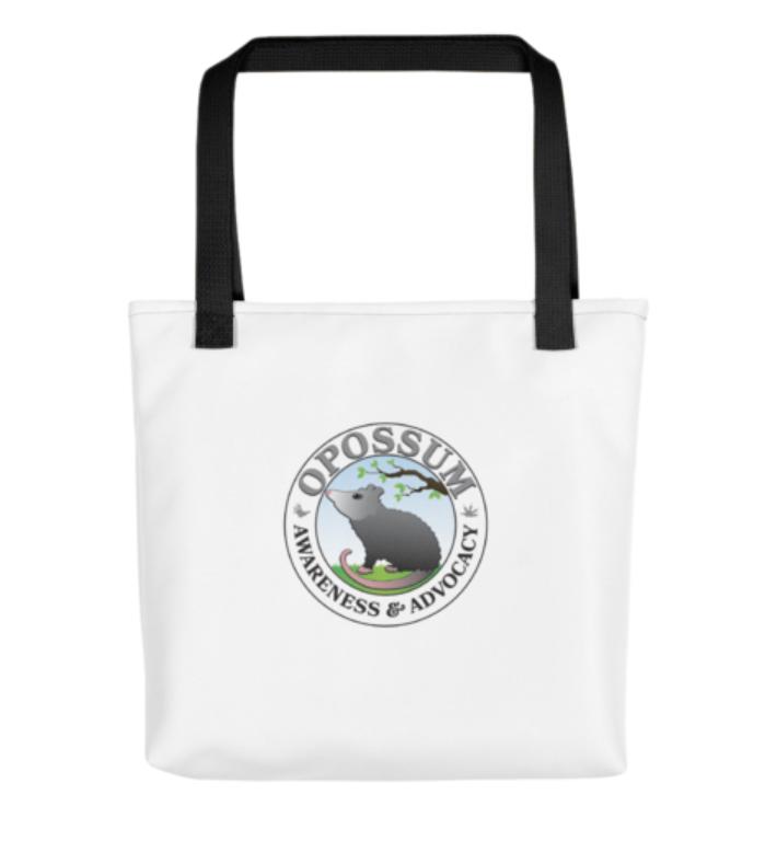 "Opossum Tote Bag - 15"" x 15"""