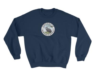 Unisex Sweatshirt - Classic Opossum Logo - (10 colors)