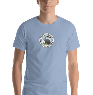 Short-Sleeve Unisex T-Shirt - Classic Opossum Logo - (13 colors)